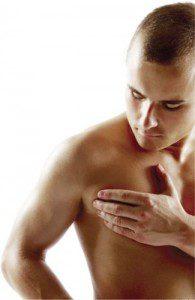 Homens podem desenvolver mamas