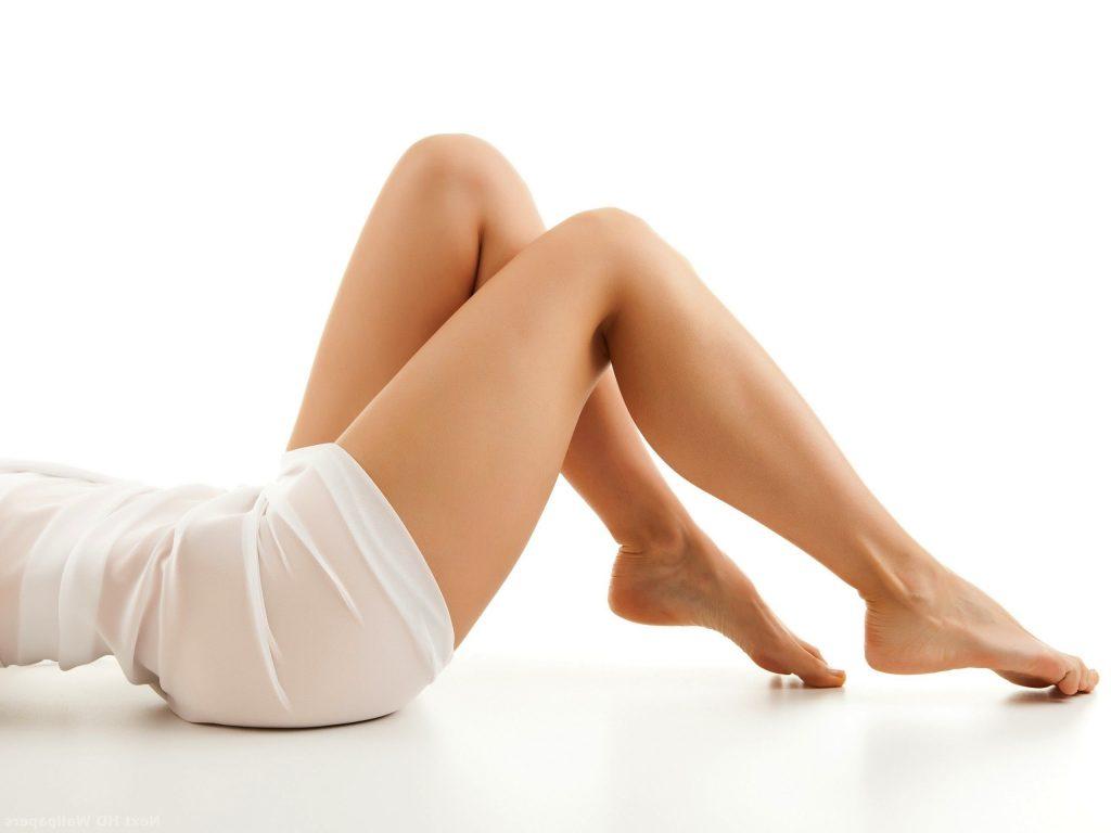 Pernas torneadas com cirurgia plástica