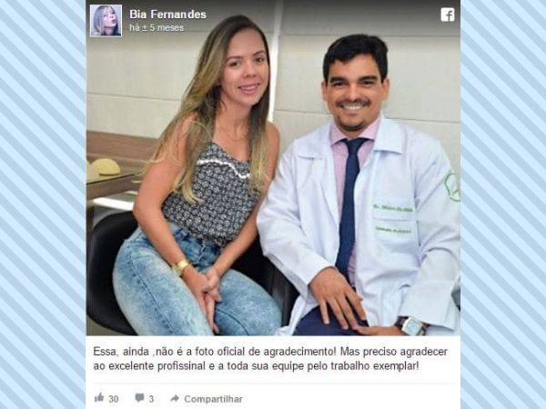 Bia Fernandes depoimento cirurgia plastica