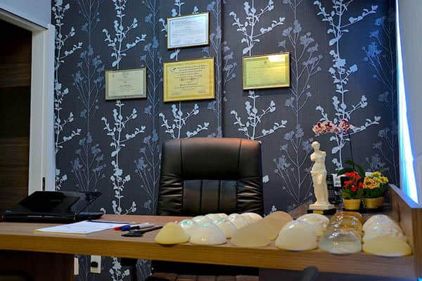 Consultório de cirurgia plástica Tijuca