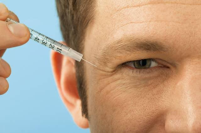 Homens também fazem Botox