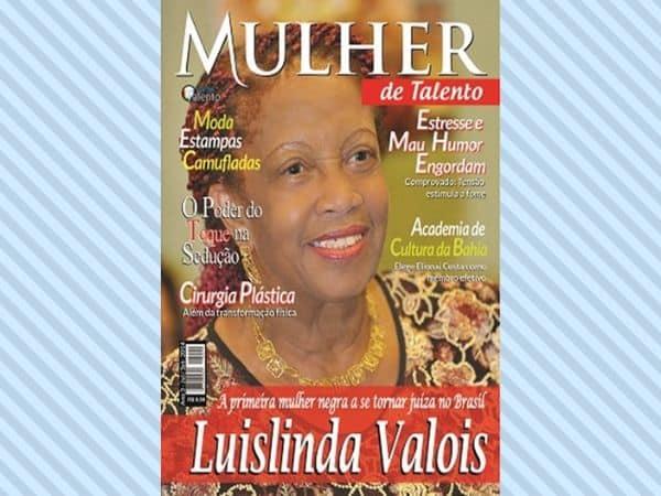 Matéria publicada na revista Mulher de Talento